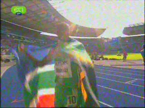 Final 800m Men World Championship 2009