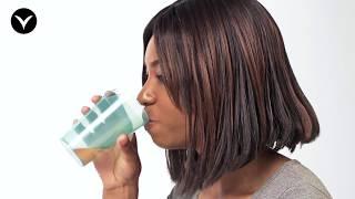 Bicchiere per disfagia - con apertura naso