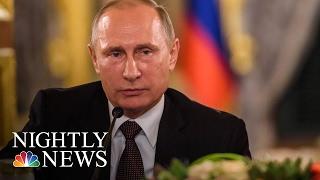 Kremlin Spokesman: 'No Doubt' Vladimir Putin Is Happy Donald Trump