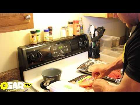 Bodybuilder Justin Compton Food Prep part 1 of 4