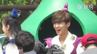 160420 [Fancam] Luhan in Korea: Running man vs Hurry up Brother pr 2