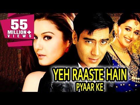 Yeh Raaste Hain Pyaar Ke (2001) Full Hindi Movie | Ajay Devgan, Madhuri Dixit, Preity Zinta