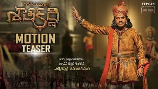 Gautamiputra Satakarni Motion Teaser | Shiva Rajkumar Royal Look | TFPC