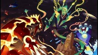 Pokemon AMV: Mega  Rayquaza VS  Groudon VS  Kyore 「The Battle Mega VS Primal Form」