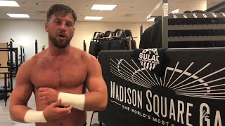 Drew Gulak goes from bingo halls to Madison Square Garden: Exclusive, March 19, 2018