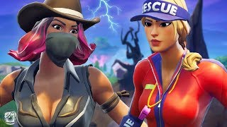 SUN STRIDER IS JEALOUS OF CALAMITY?! - A Fortnite Short Film