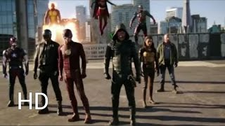 Supergirl, The Flash, Arrow, DC's Legends of Tomorrow Four Night Crossover CW Trailer #4