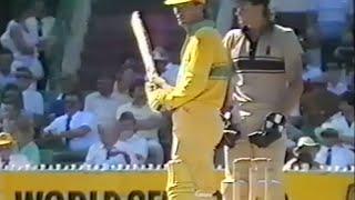 1988 Australia v New Zealand One Day Cricket Thriller
