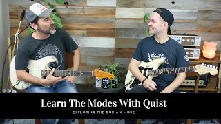 Exploring The Dorian Mode And Phrasing Concepts With Quist - Guitar Lesson - Modal Playing Tips