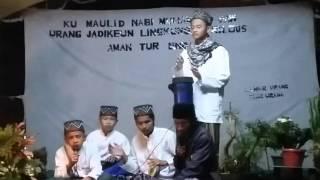 Suara emas marawis pengajian al-iklas sukamaju cibeber