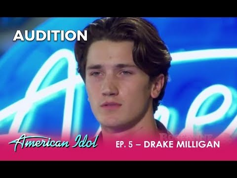 Drake Milligan: Young Actor & ELVIS Impersonator WOWS The Judges! | American Idol 2018