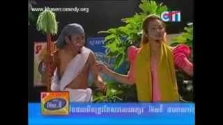 New CTN Khmer comedy 2013 this week   Tep Soda Chan