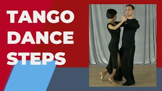 Tango dance steps - Tango basic steps for beginners