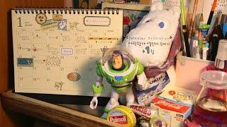 [Calendar Decoration/달력 꾸미기] 어린왕자 캘린더 꾸미기 1월 (다이어리 꾸미기,스타일핏펜,calendar setup)