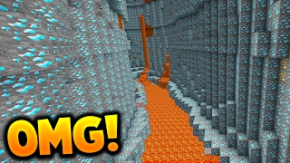 OMG THE LUCKIEST MINECRAFT FIND EVER!!