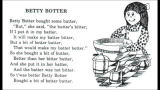 Betty Botter - Full Band Rock Version