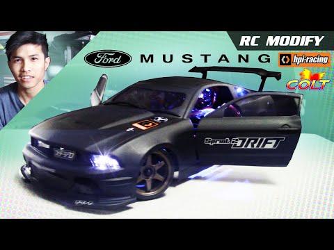 Xxx Mp4 RC Modify 12 FORD Mustang On 1 10 HPI Sprint 2 Drift 3gp Sex