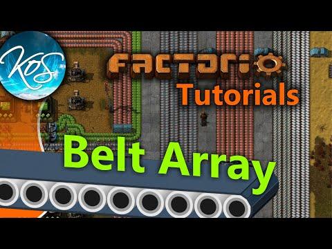 Factorio Tutorials Belt Array