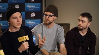 Daniel Radcliffe Talks Making Out With Paul Dano At Sundance Film Festival