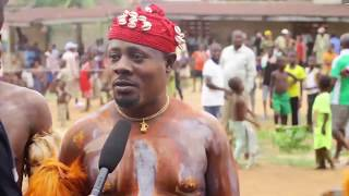WATCH TRADITIONAL WRESTLING CONTEST (MGBA) IN AFIKPO EBONYI STATE