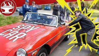 SPY CAR SHOCK HANDLE! ⚡ 40,000V ⚡