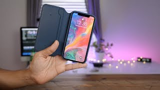 Hands-on: iPhone X Leather Folio - A Smart Case for your iPhone X?