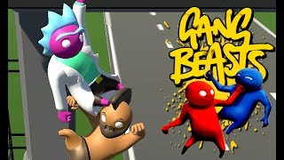 GANG BEASTS - WWE [Father vs. Son]