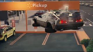 WALLMART COMMERCIAL WITH FAMOUS CARS // AUTOS FAMOSOS EN COMERCIAL DE WALMART