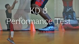 KD 8 Performance Test - Review - on Court