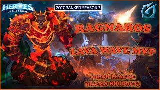 Grubby | Heroes of the Storm - Ragnaros - Lava Wave MVP - HL 2017 S3 - Braxis Holdout