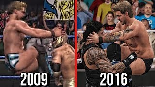 The Evolution Of Chris Jericho's Codebreaker! ( SVR 2009 To WWE 2K17 )