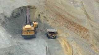 loading truck  Bingham Canyon Copper Mine