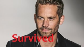 Paul Walker Survived Proof That He Is Still Alive!!!