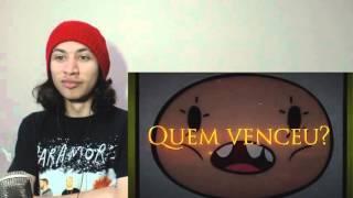 React 1121 Finn VS. Mordecai | Duelo de Titãs [REMAKE] (7 Minutoz)