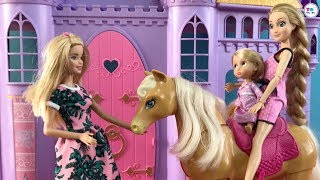 Barbie Princess Charm School Full Dolls Movie in English - Stories for Kids with Dolls and Toys