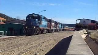 Chepe Chihuahua Al Pacifico Train in Creel, Chihuahua