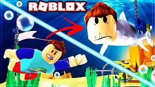 HOW TO BECOME A SHARK IN ROBLOX!!