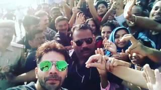 Kota Aliya batt & varun dhawan shoots for Badri