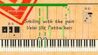 Smiling with the pain (VIP) - Piano Tutorial - Original Version [100% Speed]