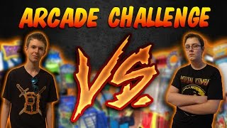 ARCADE CHALLENGE! Brother VS Brother #1