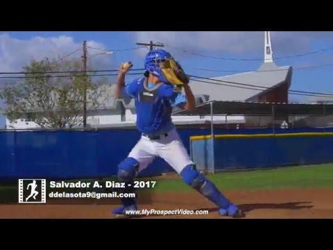 Salvador Andrew Diaz    Catcher, Picher, 3rd Base    Class of 2017