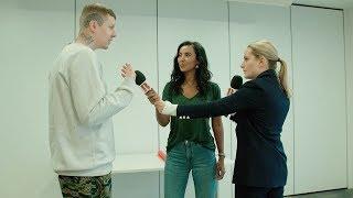 Chicken Shop Date Amelia whips Maya Jama & Professor Green into shape before The BRITs 2018!