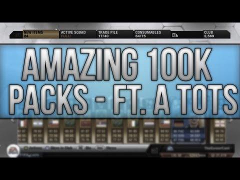 Fifa 13 | 3x 100K PACKS - FT. A MASSIVE TOTS PLAYER!! |EP 89|