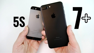 iPhone 5S vs iPhone 7 Plus: Upgrade or iPhone 8?