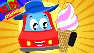 Little Red Car | Rhymes | I Am Hot Season Song | Rhymes For Kids
