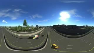 Georgia Department of Transportation highway design virtual reality video