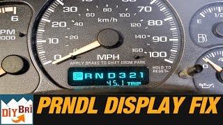 How To Fix PRNDL Odometer Display on GM Trucks