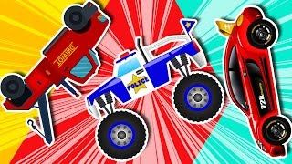 kids Cars And Trucks | learn Tansport | Compilation | kids video | kids channel
