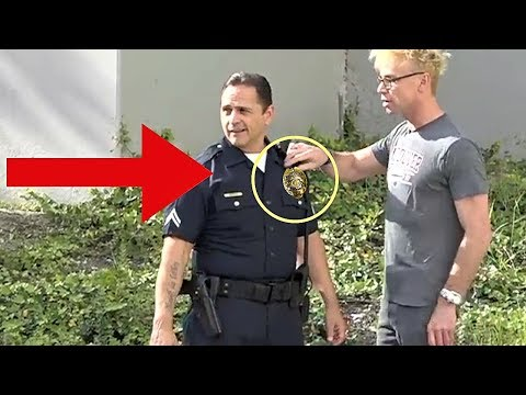 BEST Stealing From a Cop Pranks NEVER DO THIS POLICE SECURITY MAGIC COMPILATION 2018