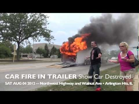 Xxx Mp4 Show Car 1969 Camaro Destroyed By Fire During Transport In Trailer On Route 14 Arlington Heights 3gp Sex